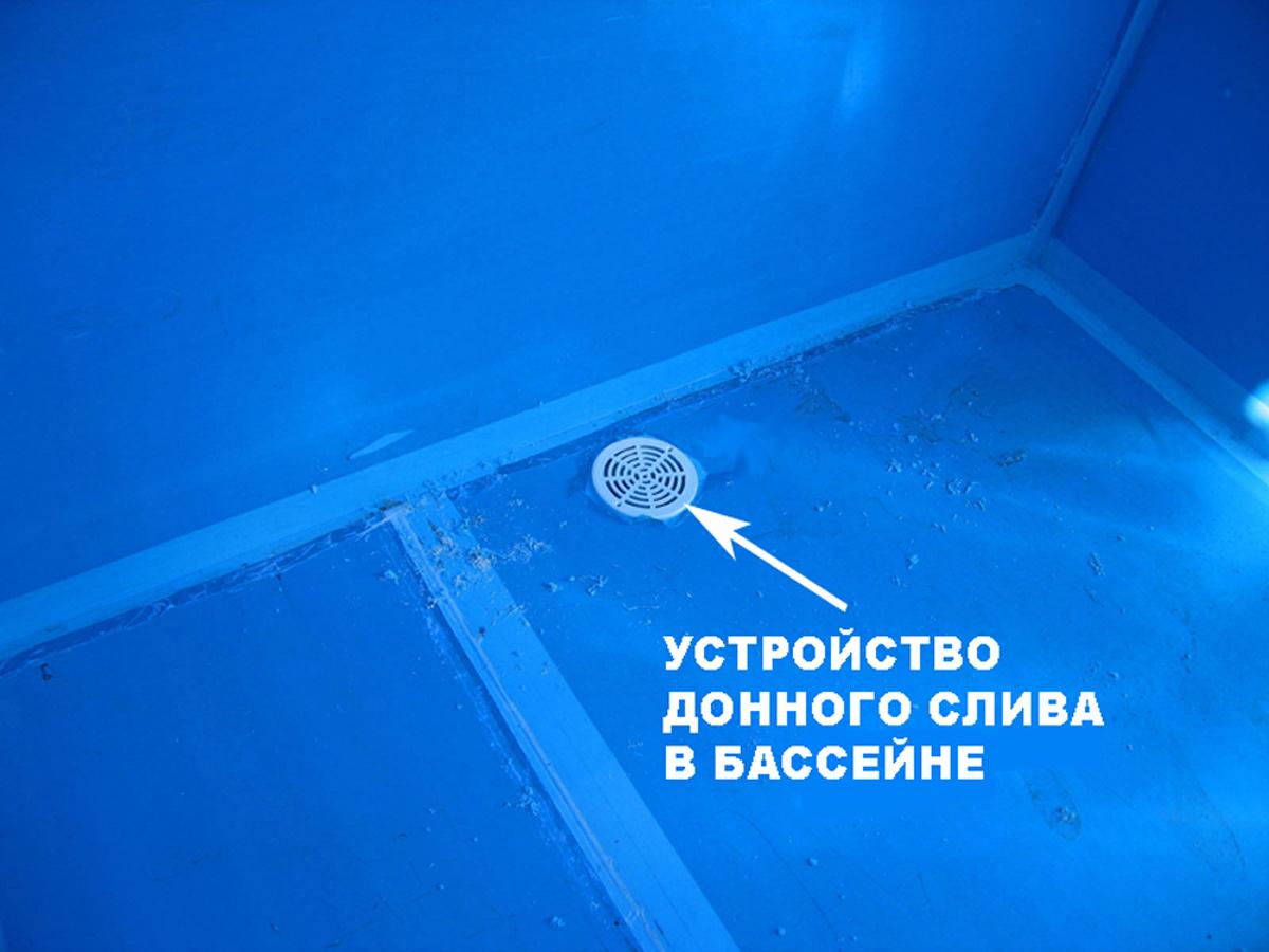 Слив воды из бассейна: автоматическая система, стандартный 15